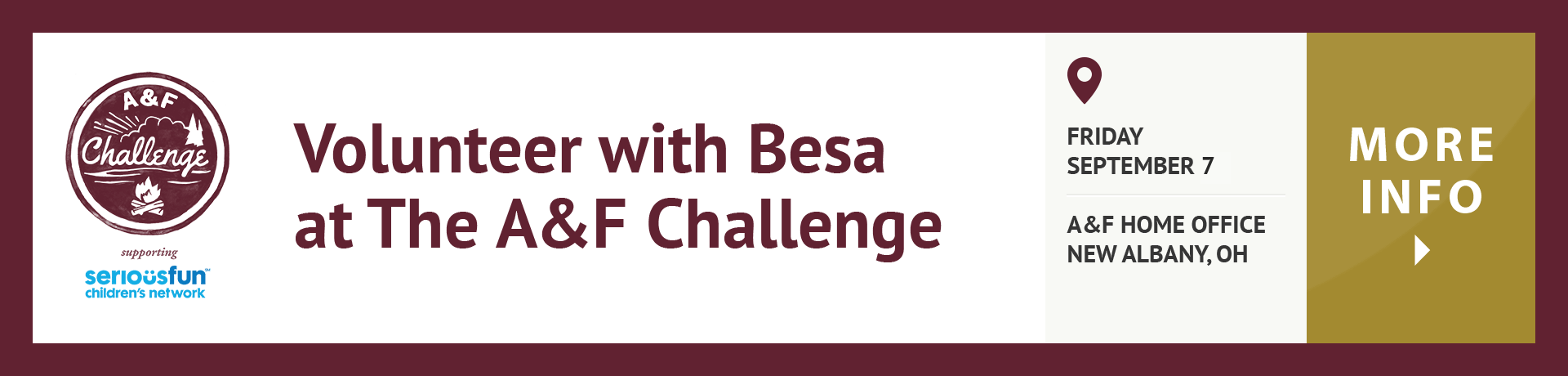 Volunteer With Besa At The A&F Challenge